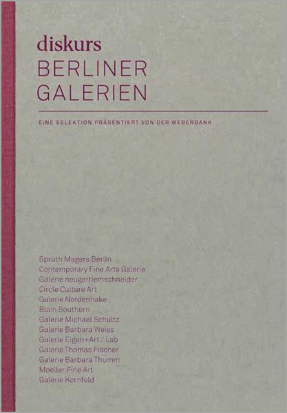diskurs Berliner Galerien