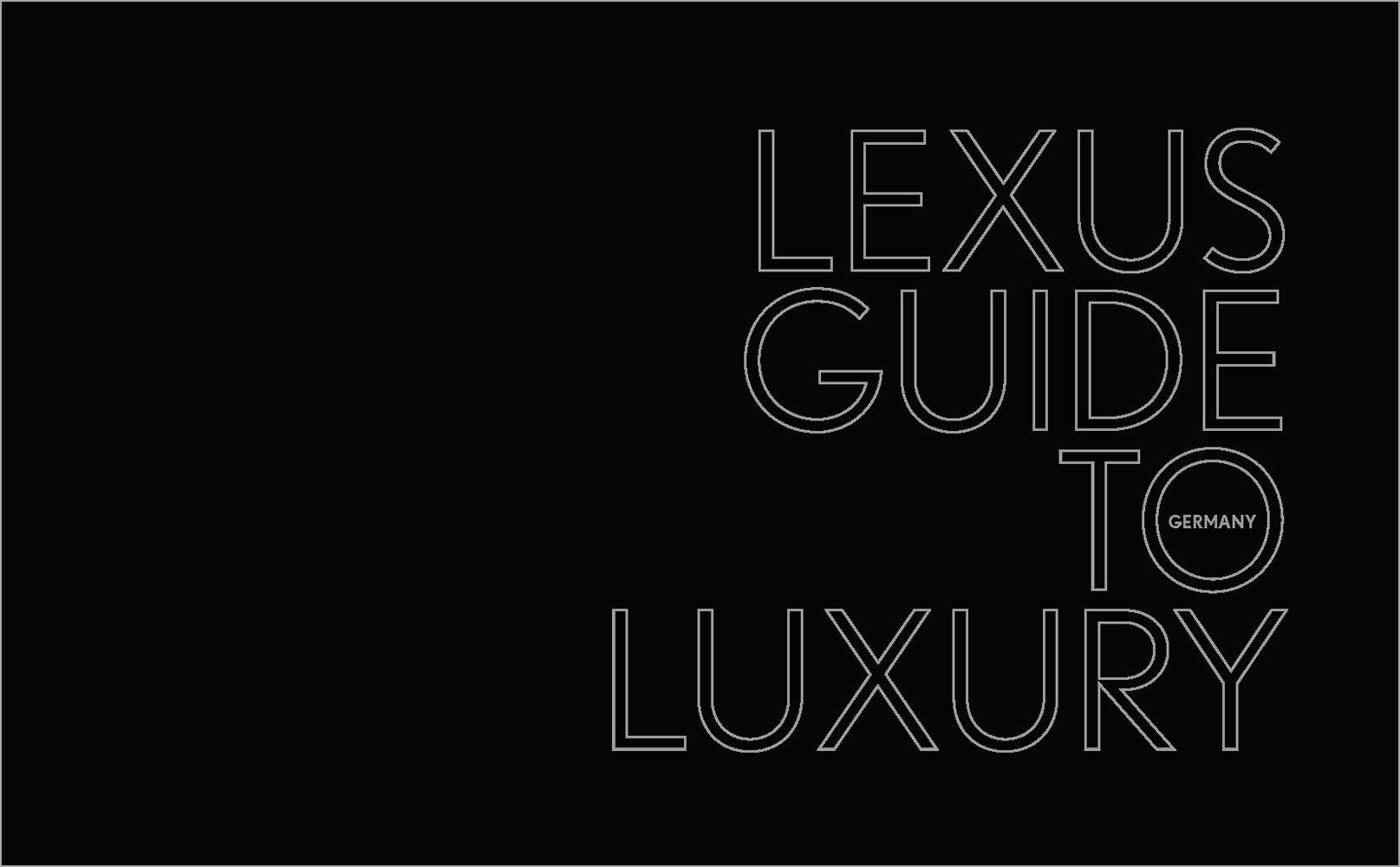 Lexus Guide to Luxury