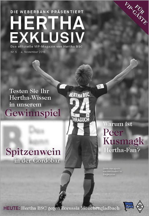 Hertha Exklusiv No. 5
